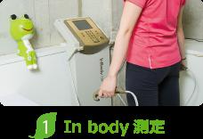ダイエット専門In-body測定