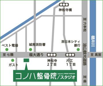 片江院地図